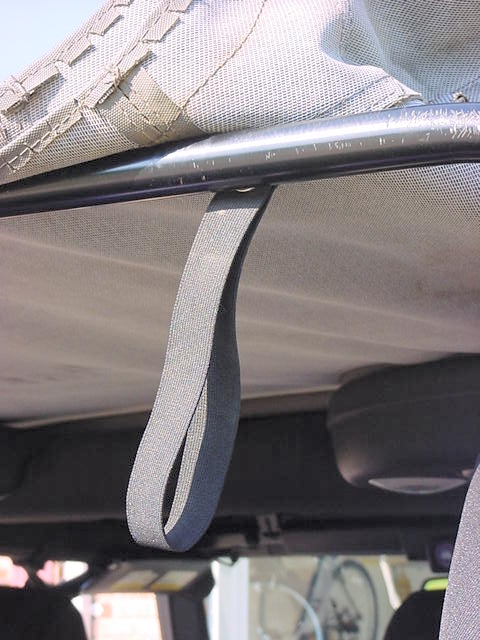 Wrangler Rear Window Straps Rear Window Strap Hanging Down