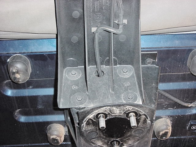3rd brake light bracket – Jeep Wrangler Third Brake Light Wiring