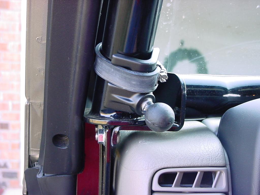 Phillips Screwdriver Tip roll bar mount
