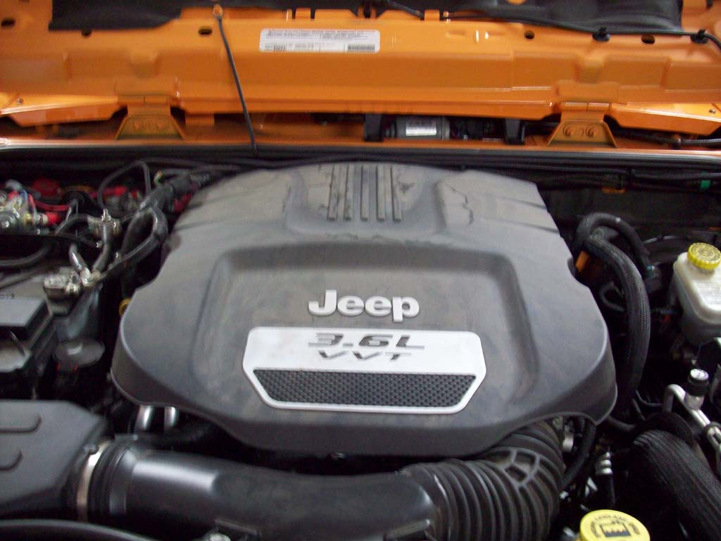 P0128 Code Engine Thermostat Replacement 36l 2012 Jeep Wrangler Wire Diagram Turn Off The And Reinstall Cover
